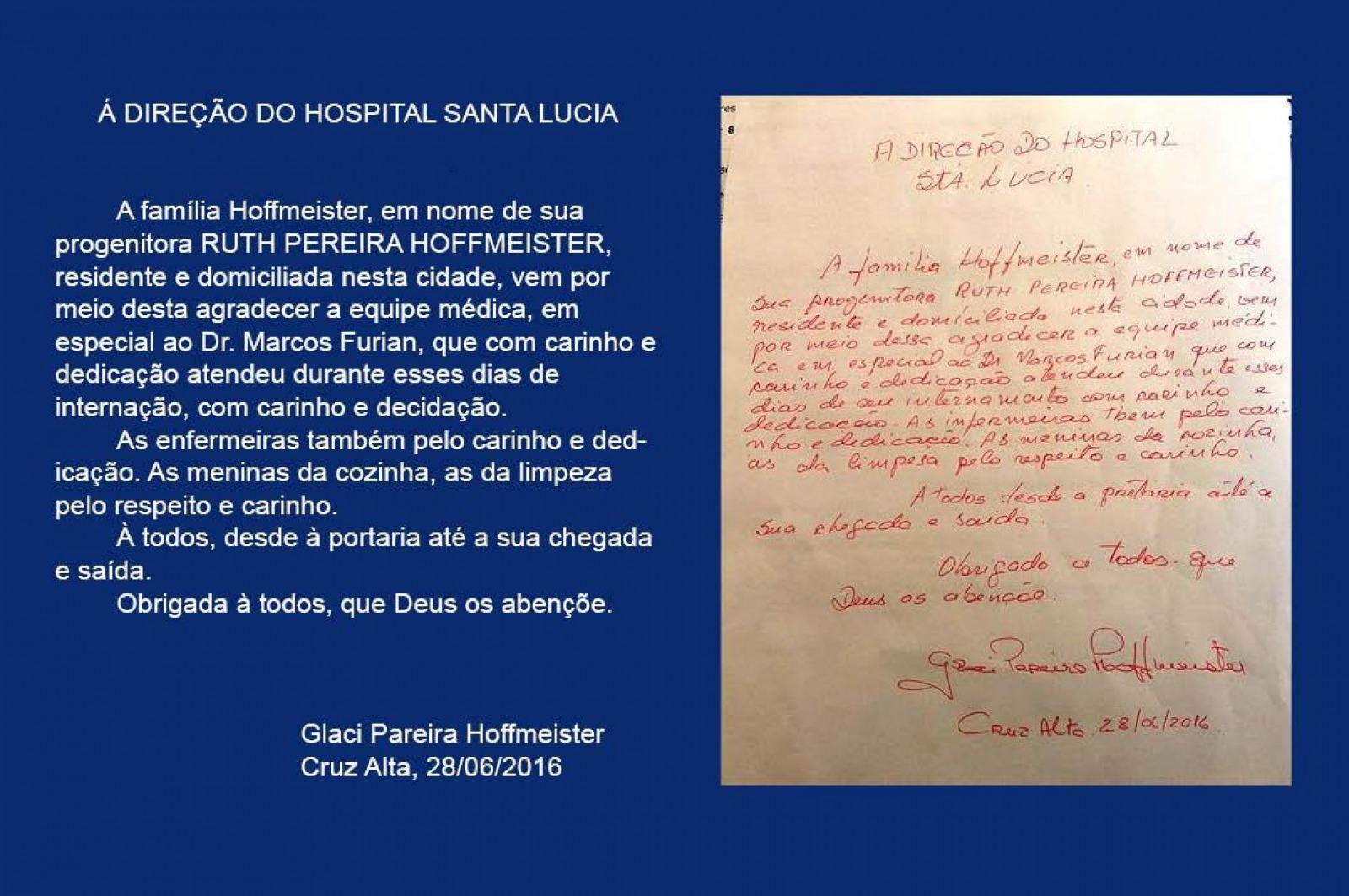 Carinho dos Pacientes