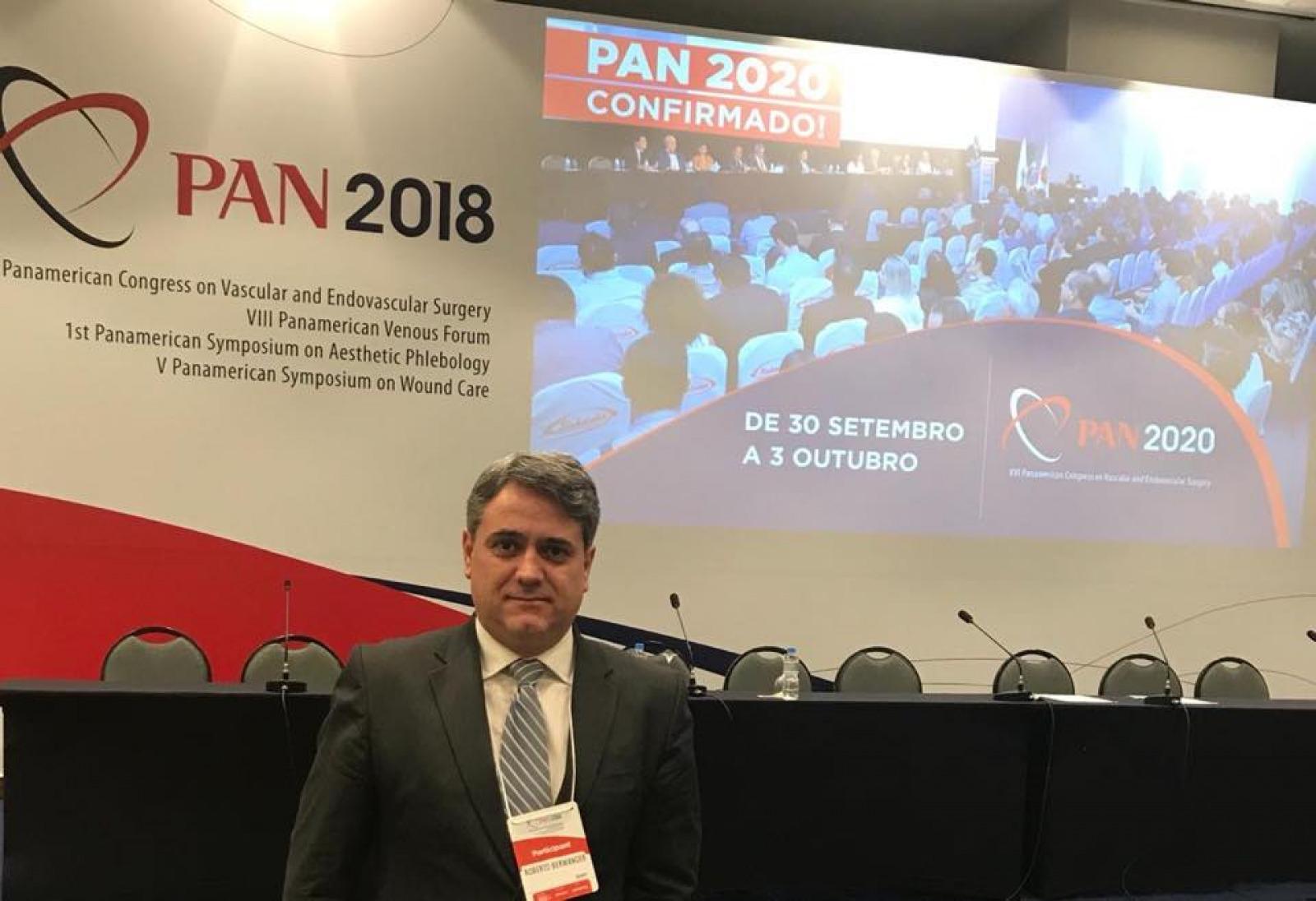 XV congresso Panamericano de Cirurgia Vascular e V Congresso Panamericano de Feridas Crônicas