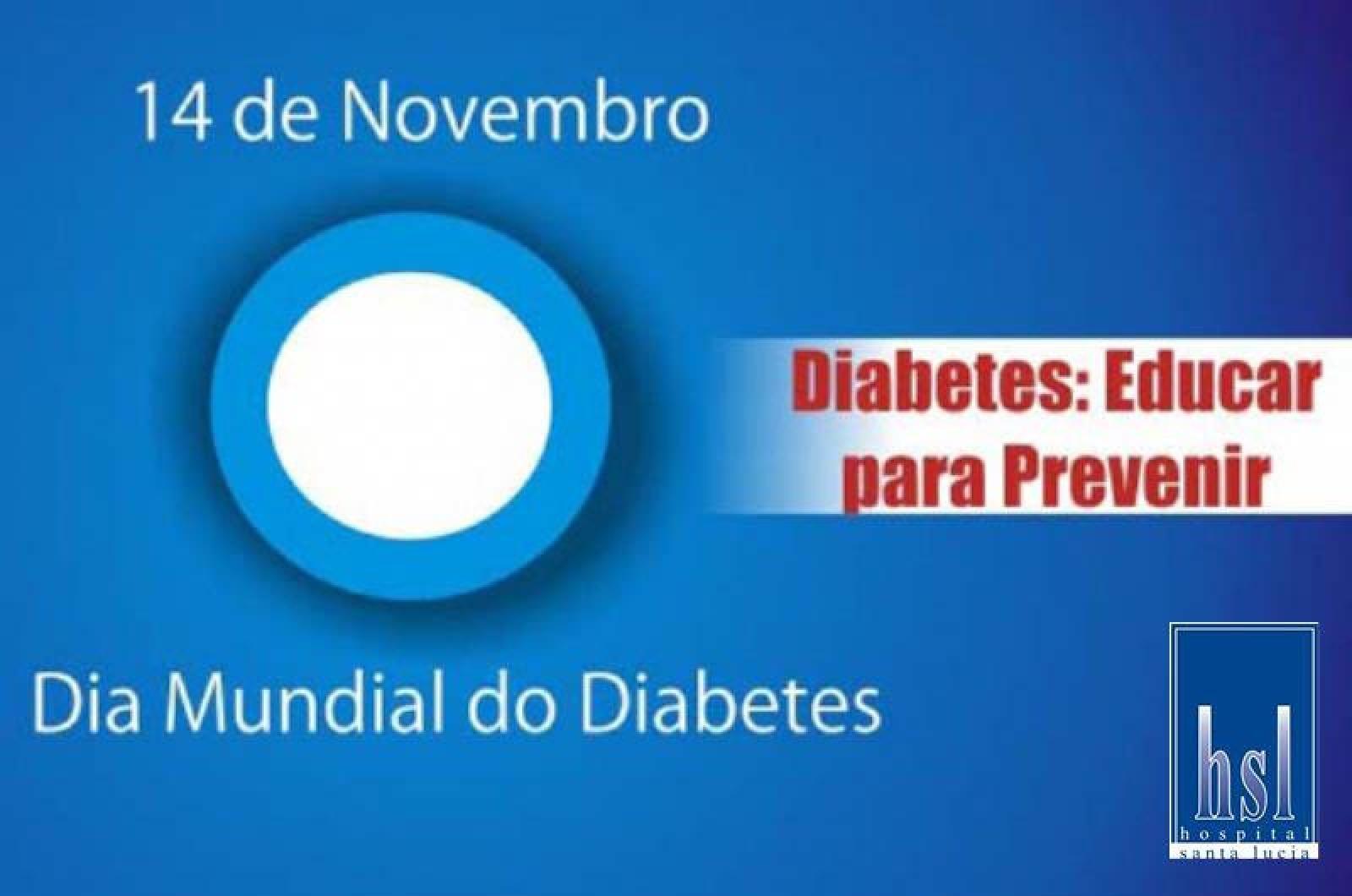 Dia Mundial do Diabetes visa prevenção da doença