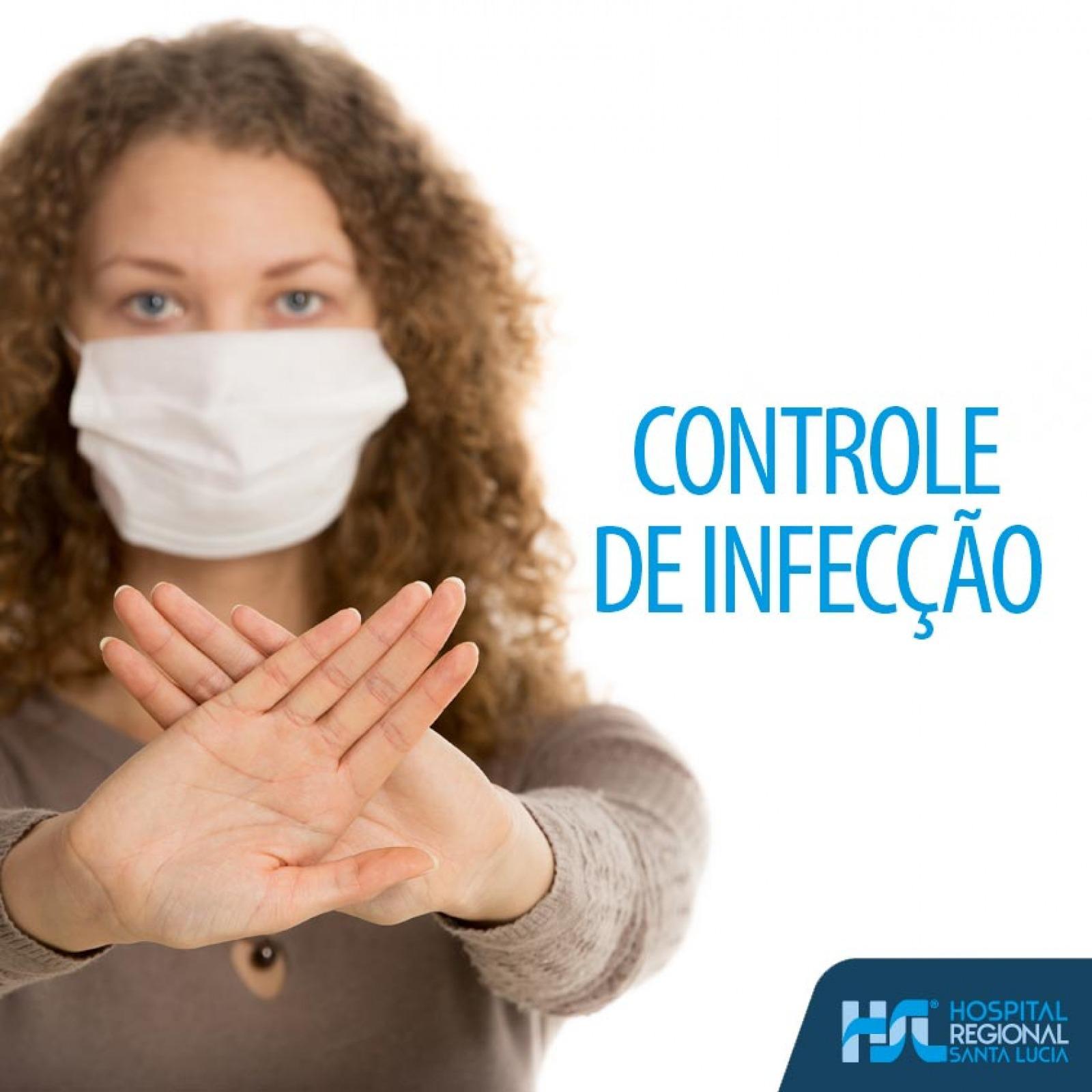 Sempre cuidando da sua segurança: Controle de infecção hospitalar