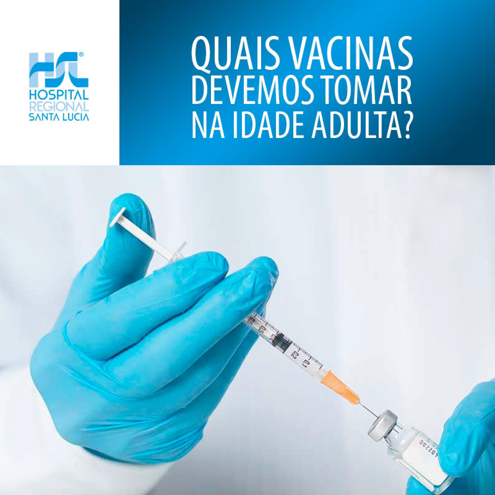Vacinas na Idade Adulta