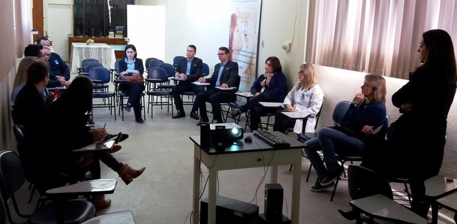 Visita Técnica - Hospital Ivan Goulart/São Borja