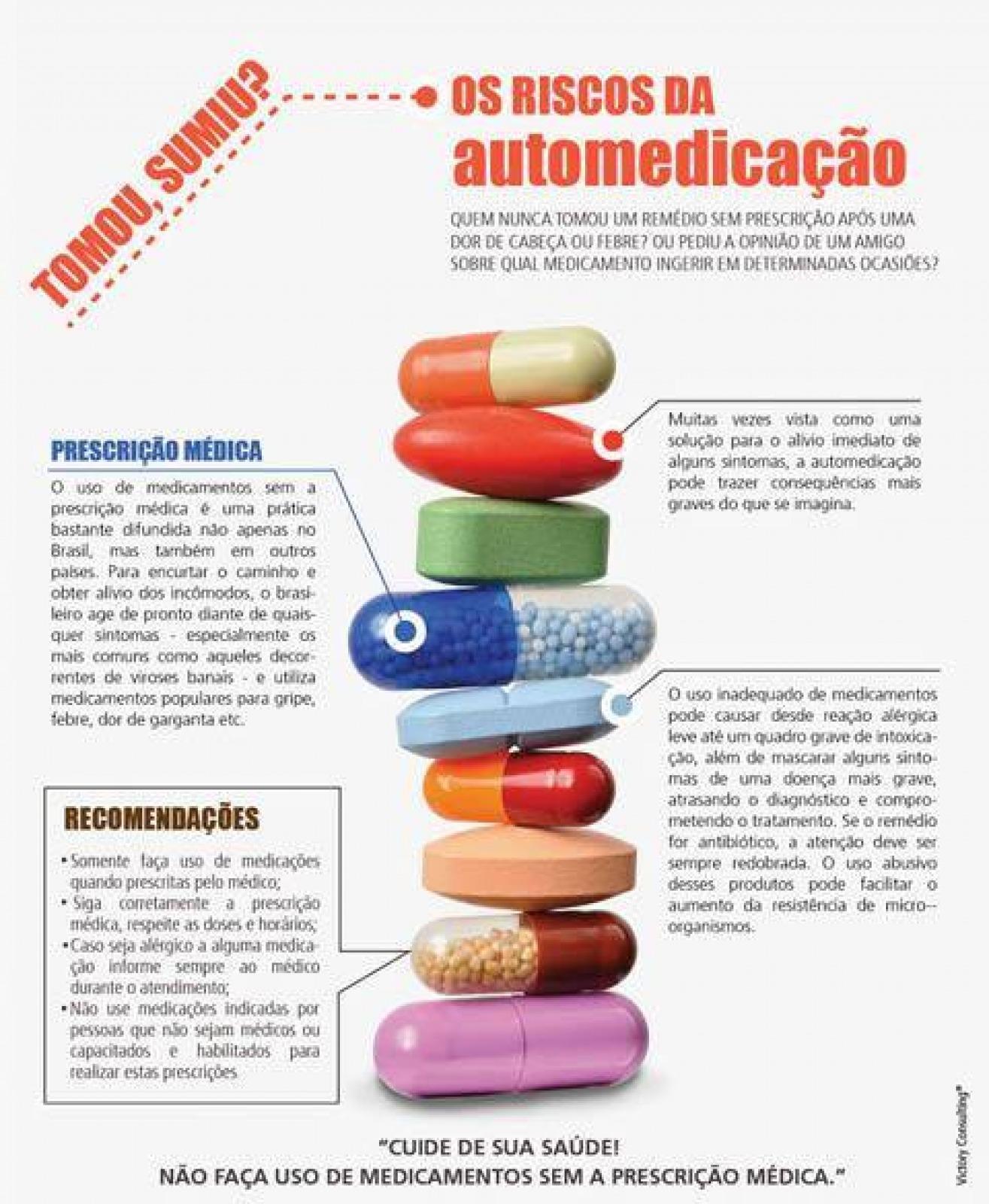 DICA 4: Não se automedique