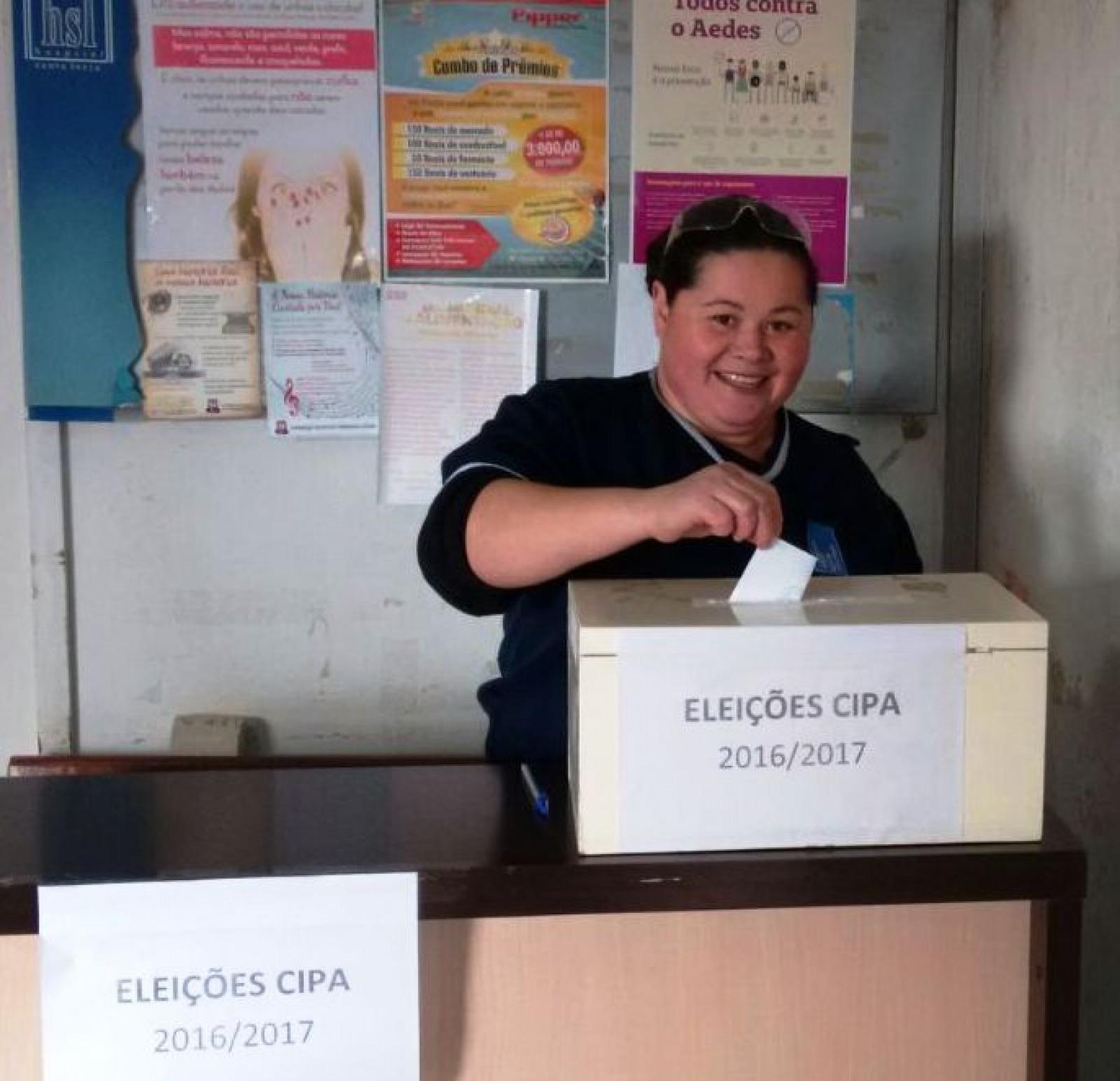 Eleição da CIPA/2016 no Hospital Santa Lúcia