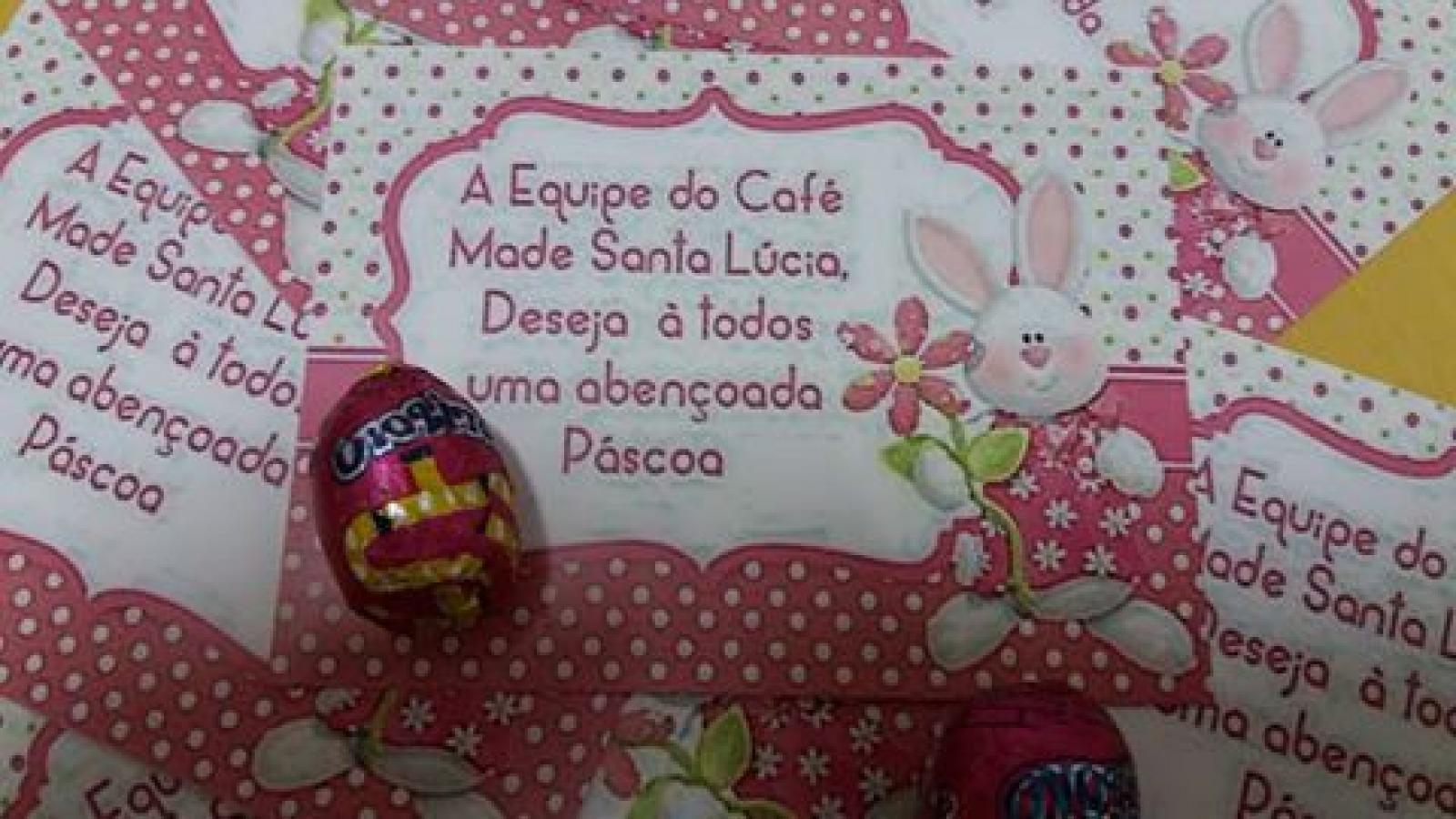 Páscoa Café Made Santa Lúcia