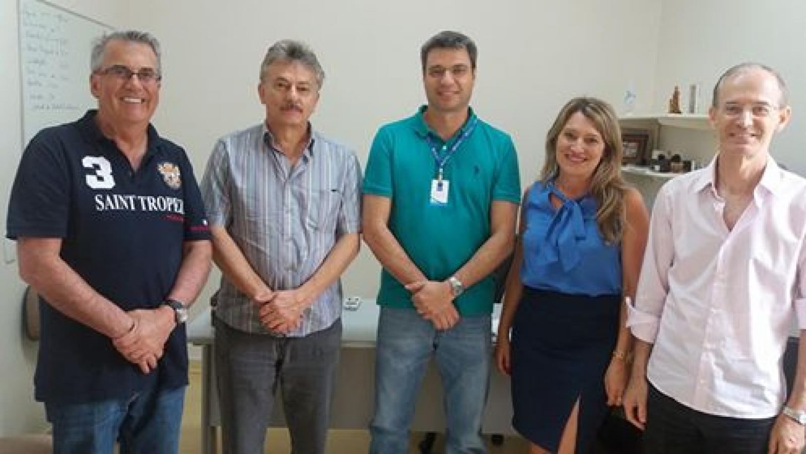 Visita do Hospital Santa Mônica de Erechim