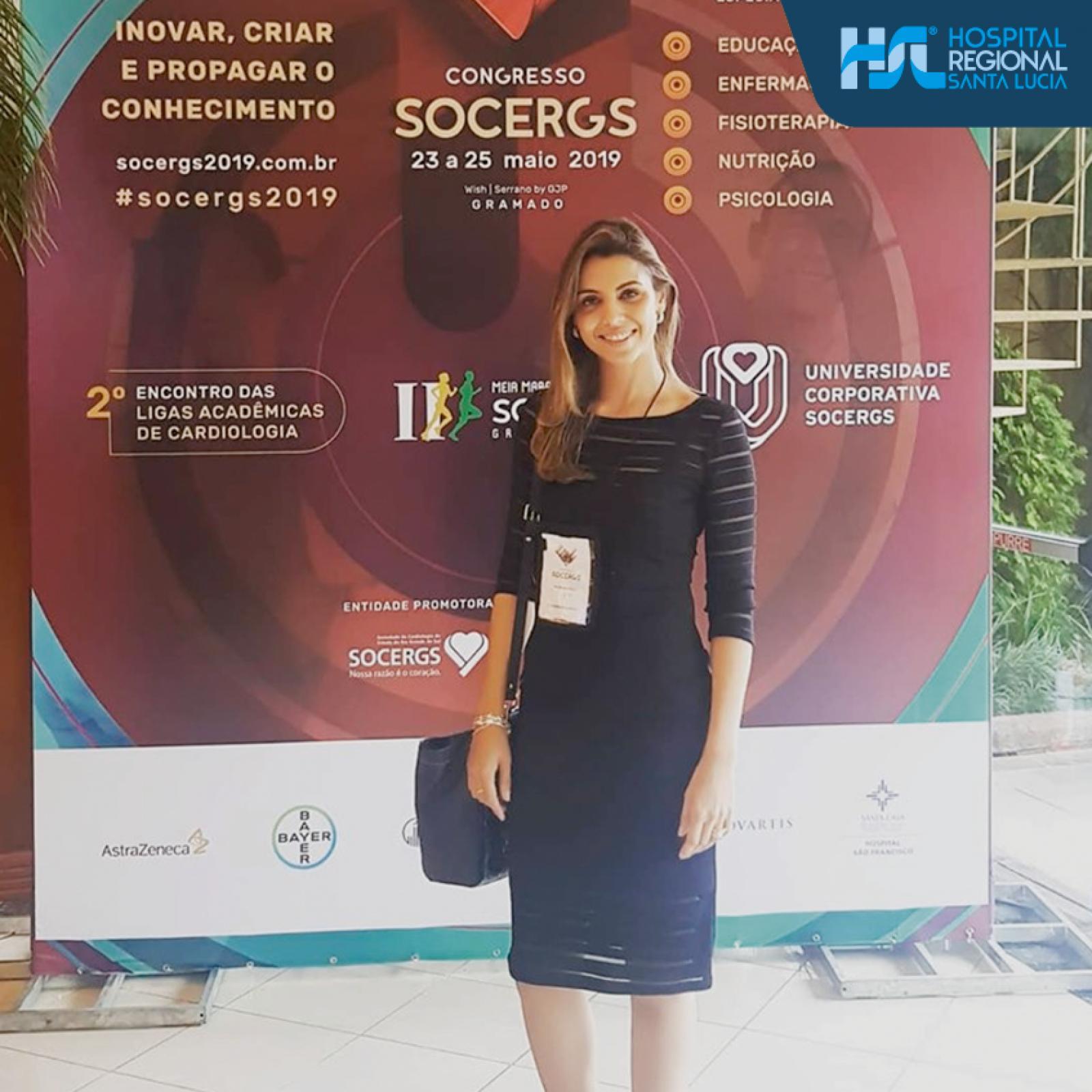 Inovar, criar e propagar o conhecimento - HSL participa do SOCERGS