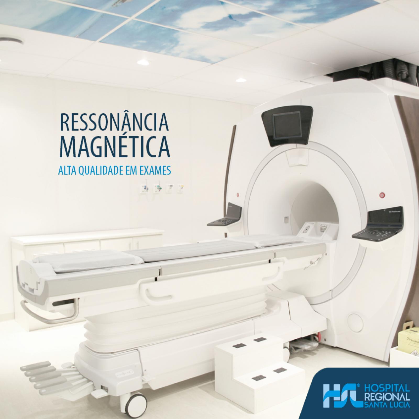 Ressonância Magnética - Alta qualidade em exames