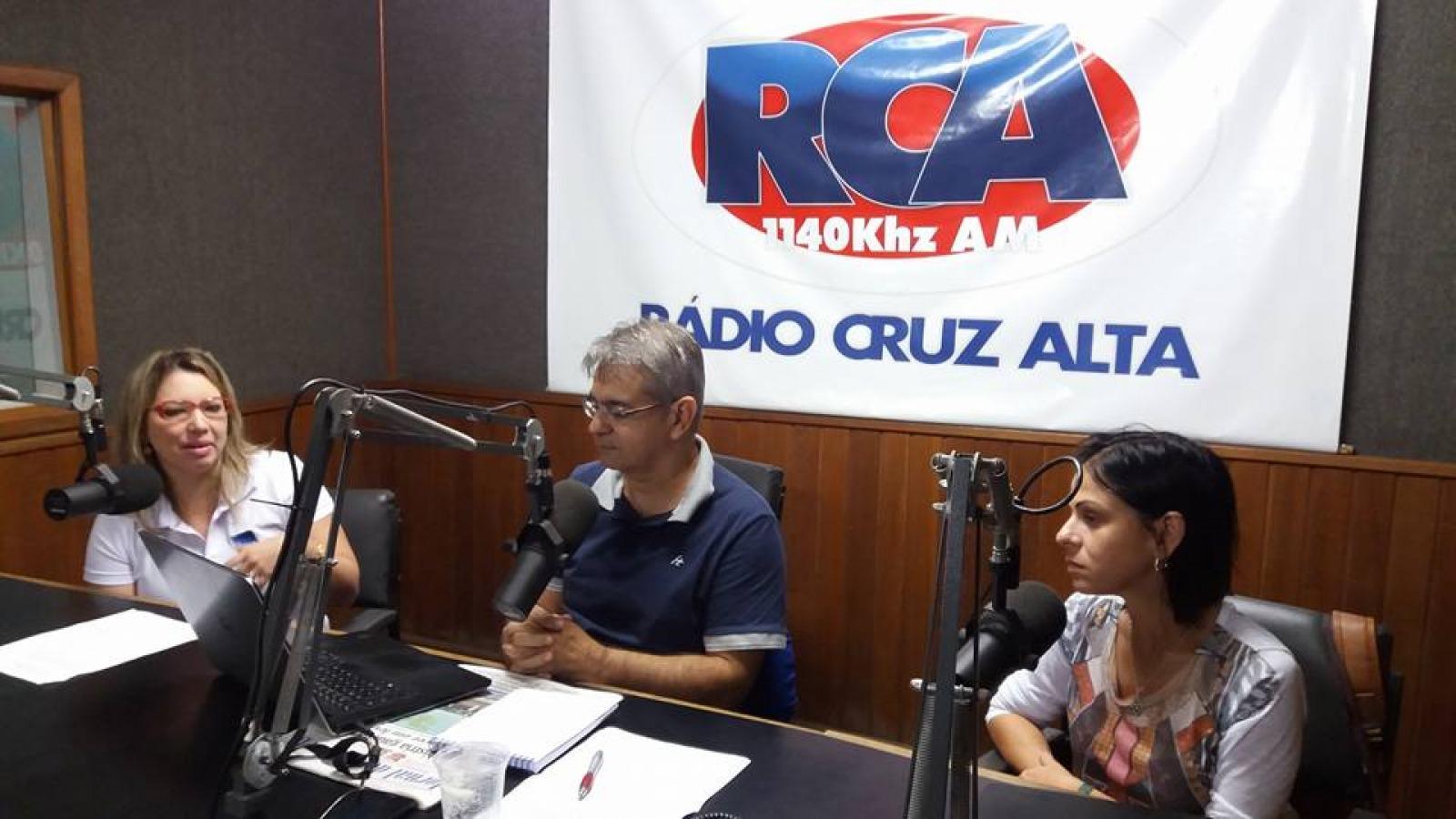 Gestante Feliz - Entrevista na Rádio Cruz Alta