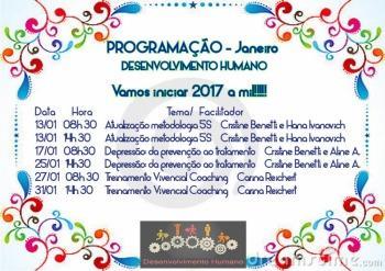 Treinamentos Desenvolvimento Humano de Janeiro
