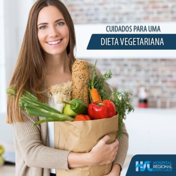 Cuidados para uma Dieta Vegetariana