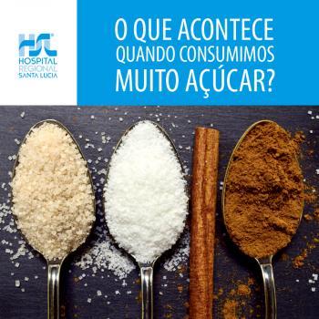 O que acontece quando consumimos muito açúcar?
