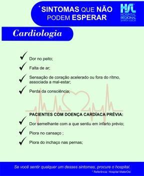 Sintomas que não podem esperar - CARDIOLOGIA