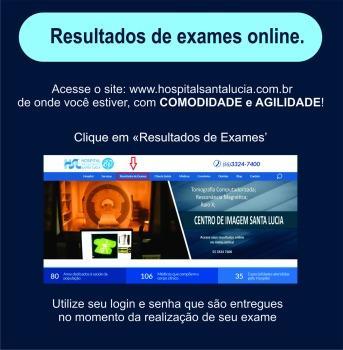 Resultado de Exames online