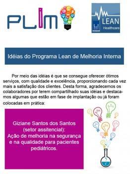 Idéias do Programa Lean de Melhoria Interna 4