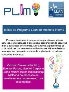 Idéias do Programa Lean de Melhoria Interna 6